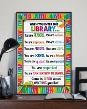 Librarian When you enter this library 11x17 Poster lifestyle-poster-2