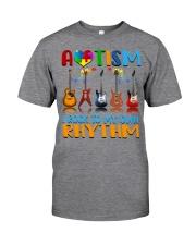Autism Awareness I rock my own rhythm Classic T-Shirt thumbnail