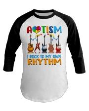 Autism Awareness I rock my own rhythm Baseball Tee thumbnail