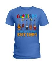 Autism Awareness I rock my own rhythm Ladies T-Shirt thumbnail