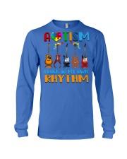 Autism Awareness I rock my own rhythm Long Sleeve Tee thumbnail