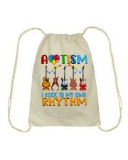 Autism Awareness I rock my own rhythm Drawstring Bag thumbnail