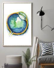 Art Watercolor Eye Optometrist 11x17 Poster lifestyle-poster-1