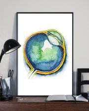 Art Watercolor Eye Optometrist 11x17 Poster lifestyle-poster-2