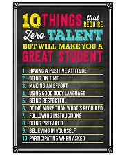 Great Student Teacher  11x17 Poster front