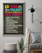 Great Student Teacher  11x17 Poster lifestyle-poster-1