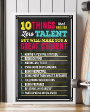 Great Student Teacher  11x17 Poster lifestyle-poster-4