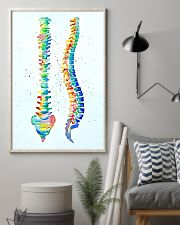 Chiropractor Anatomical Spine Watercolor 11x17 Poster lifestyle-poster-1