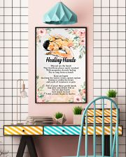 Massage Therapist Healing Hands 24x36 Poster lifestyle-poster-6