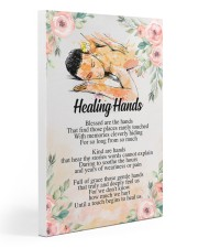 Massage Therapist Healing Hands 20x30 Gallery Wrapped Canvas Prints thumbnail