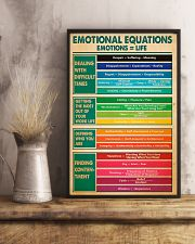 Social Worker Emotional Equations 11x17 Poster lifestyle-poster-3