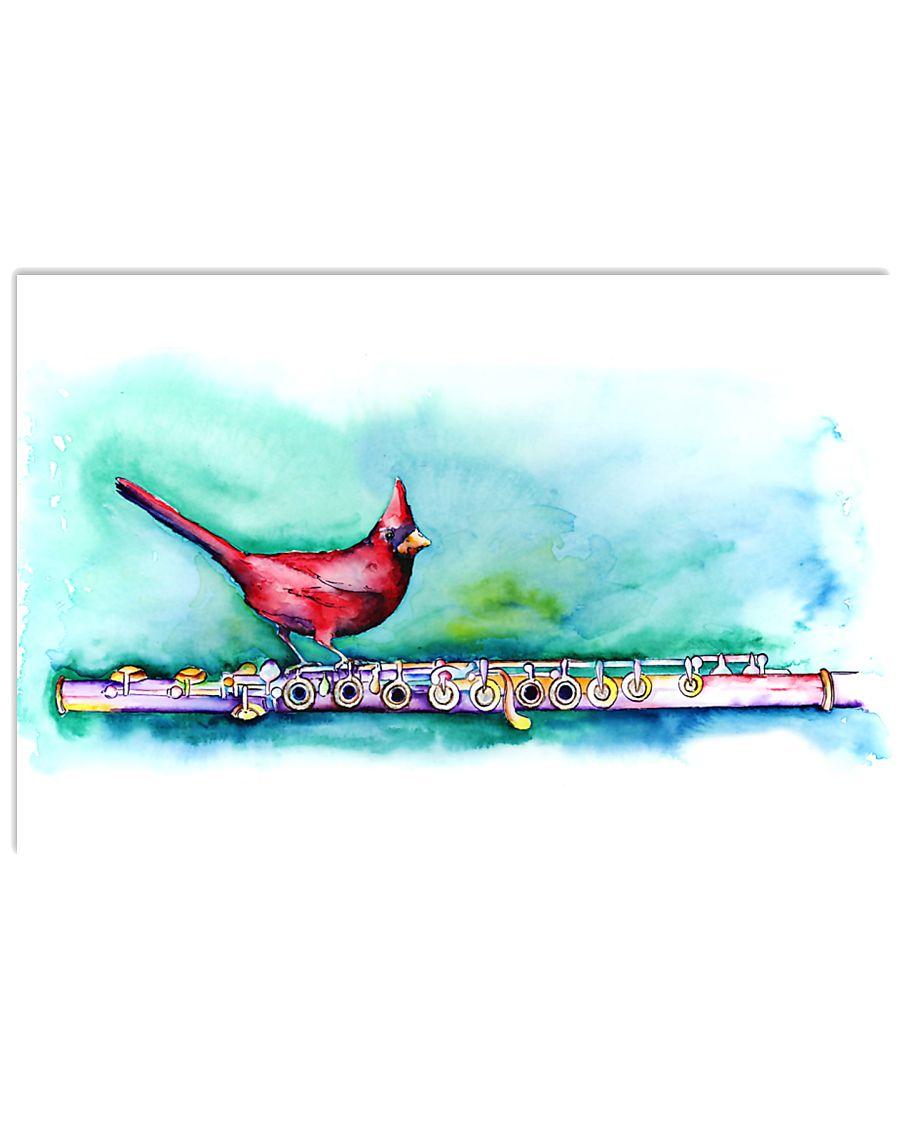 Art Bird Flute  17x11 Poster
