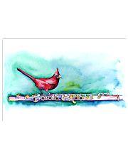 Art Bird Flute  17x11 Poster front