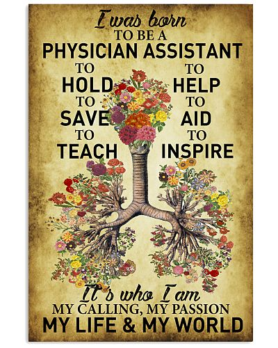 Physician Assistant - My passion - My world