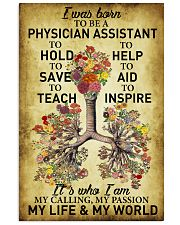 Physician Assistant - My passion - My world 11x17 Poster front