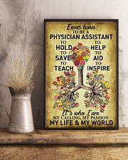 Physician Assistant - My passion - My world 11x17 Poster lifestyle-poster-3