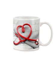 Cardiologist Red Stethscope Mug front