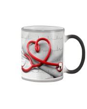 Cardiologist Red Stethscope Color Changing Mug thumbnail