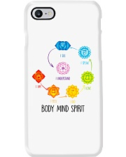 Yoga Body mind spirit Phone Case tile