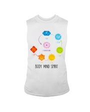 Yoga Body mind spirit Sleeveless Tee tile