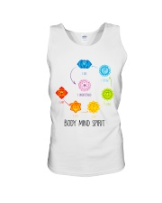 Yoga Body mind spirit Unisex Tank thumbnail