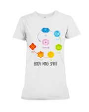 Yoga Body mind spirit Premium Fit Ladies Tee thumbnail