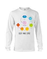 Yoga Body mind spirit Long Sleeve Tee tile