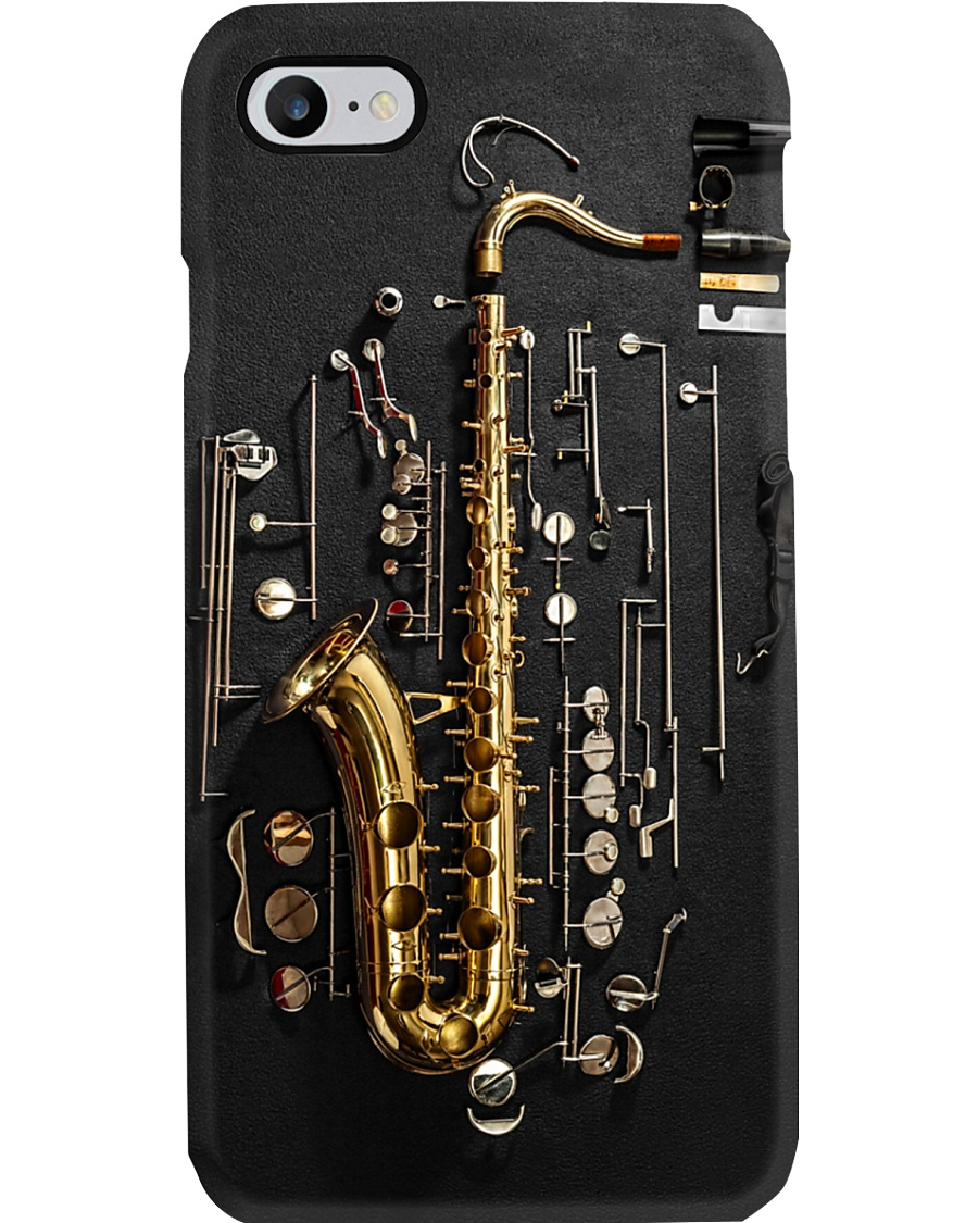 Saxophonist Saxophone Structure Phone Case