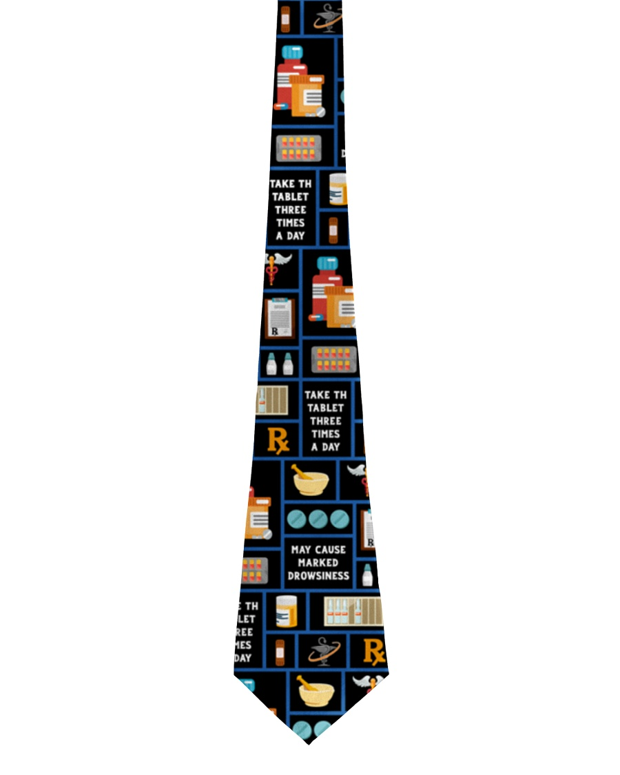 Pharmacy Icons Pharmacist Gift Tie
