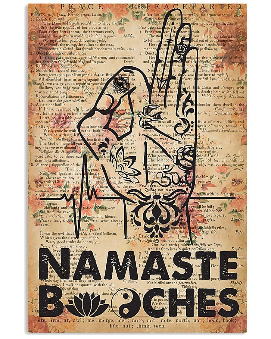 Yoga Namaste  11x17 Poster