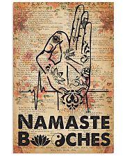 Yoga Namaste  11x17 Poster front