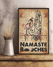 Yoga Namaste  11x17 Poster lifestyle-poster-3