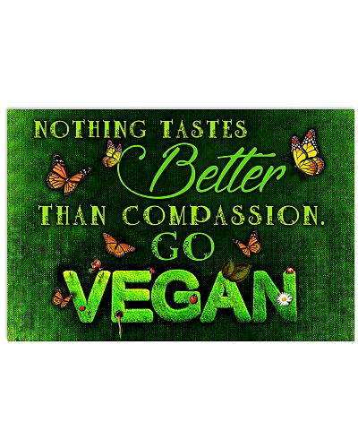 Vegan Nothing tastes better than compassion