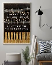Pianist practice until you can't get it wrong 11x17 Poster lifestyle-poster-1