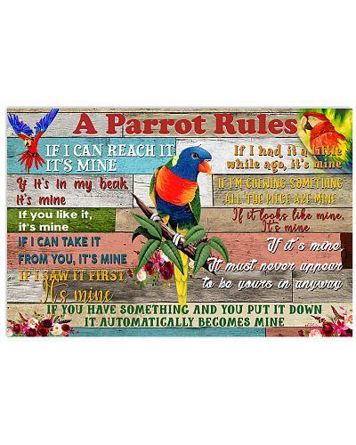 Parrot a Parrot Rules