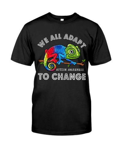 Autism Awareness We All Adapt To Change