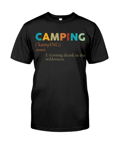 Vintage Definition Camping