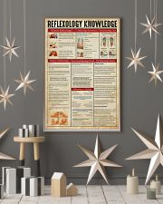 Massage Therapist Reflexology Knowledge  11x17 Poster lifestyle-holiday-poster-1