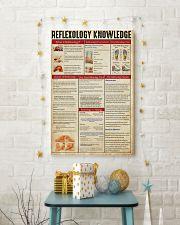 Massage Therapist Reflexology Knowledge  11x17 Poster lifestyle-holiday-poster-3