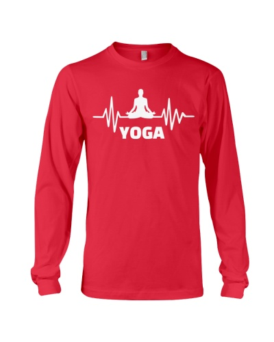 Yoga - Heart beating