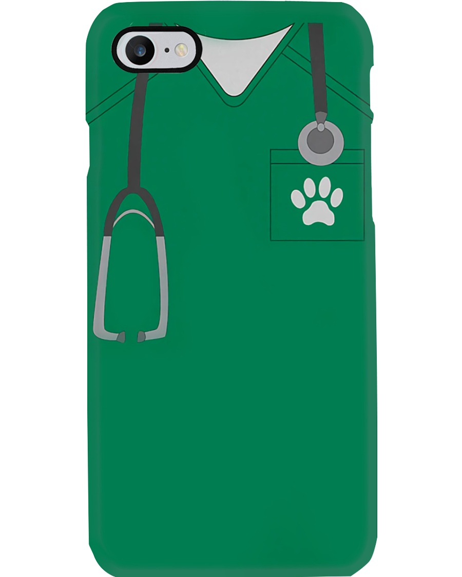 Vet Tech Scrub Phone Case