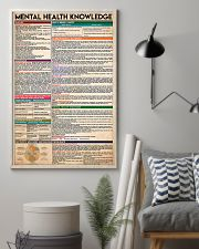 Social Worker Mental Health Knowledge 11x17 Poster lifestyle-poster-1