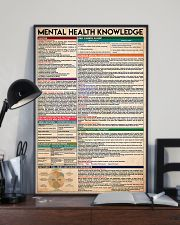 Social Worker Mental Health Knowledge 11x17 Poster lifestyle-poster-2