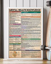 Social Worker Mental Health Knowledge 11x17 Poster lifestyle-poster-4