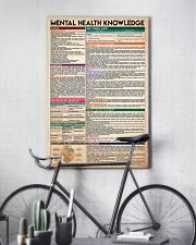 Social Worker Mental Health Knowledge 11x17 Poster lifestyle-poster-7