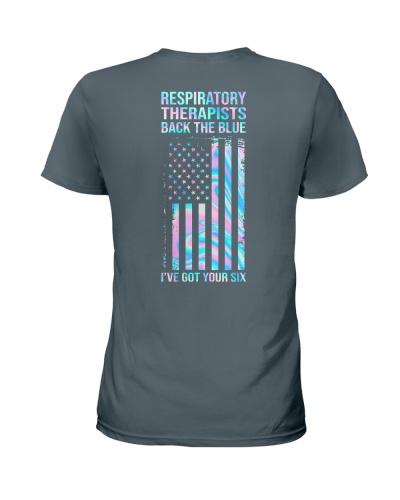 Respiratory Therapist Back The Blue