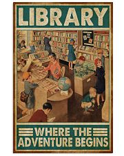 Librarian Library Where The Adventure Begins 11x17 Poster front