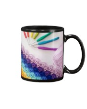 Crochet And Knitting - Colorful Yarn Mug front