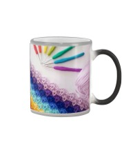 Crochet And Knitting - Colorful Yarn Color Changing Mug thumbnail