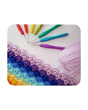 Crochet And Knitting - Colorful Yarn Mousepad thumbnail